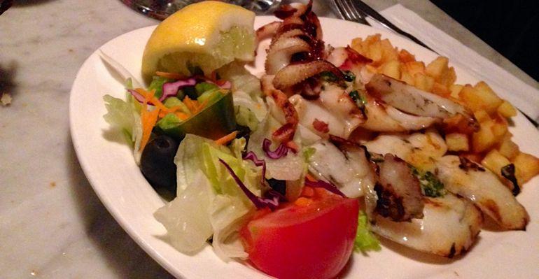 Abendessen in der Comidas Bar San Juan