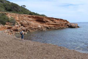 Die kleine verlassene Bucht, Cala Lllarga