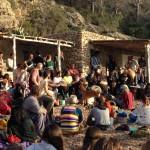 Die Trommler an der Cala Benirras