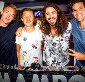 Die mambobrothers mit Martin Solveig