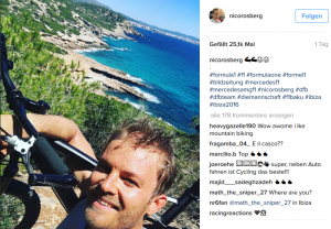 Nico Rosberg Ibiza