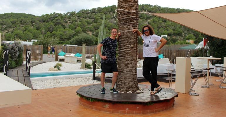 Phrank - vom Luxus auf Ibiza zu arbeiten