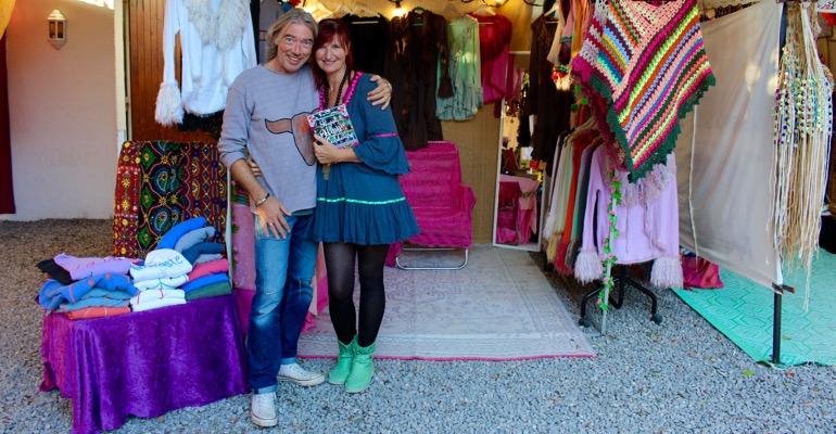 Elke Clörs mit ihrem Mann Stefan