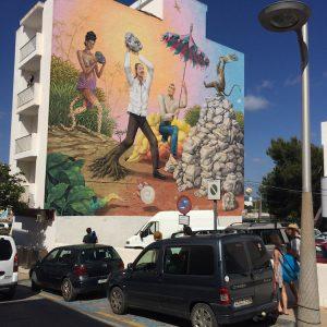 Graffiti Ibiza