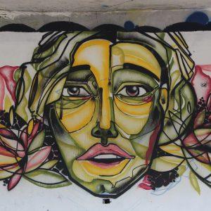 Graffitis auf Ibiza