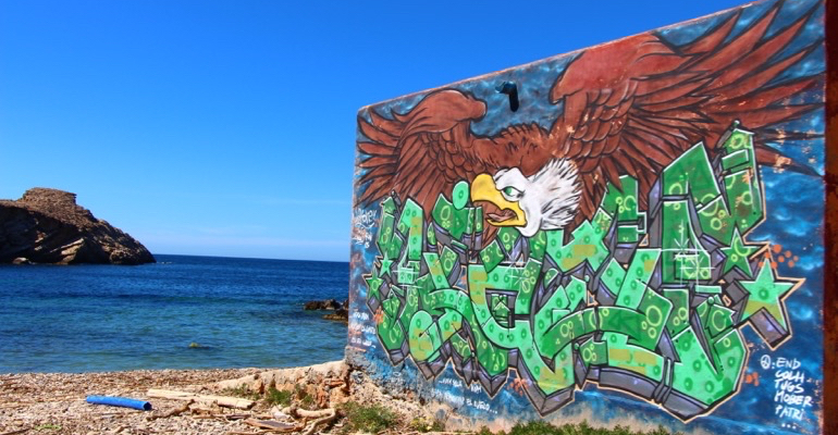 Graffiti Punta Galera