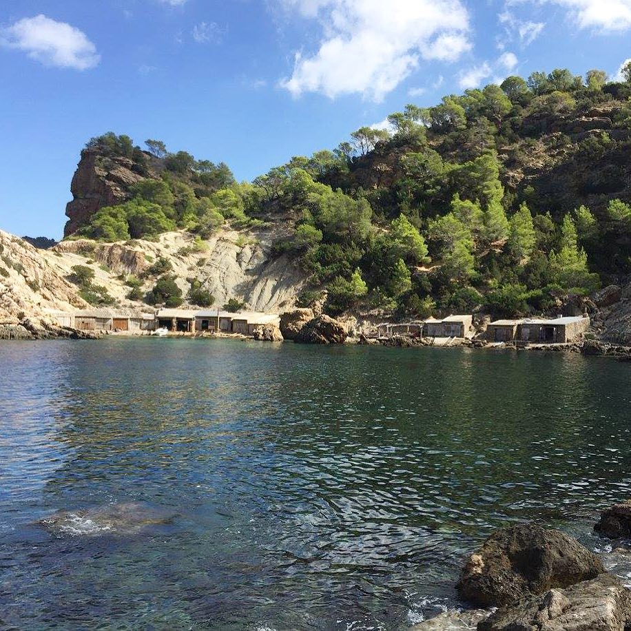 It's quite a long way down to Es Portixol, but it paid of 👍 #ibiza #walkingtour #beach #playa #secretbeach #ibizaplaya #ocean #sky #forest #nature #instanature #ibizanature #picoftheday #like #ibiza2017 #ibzconnect #ibizadiary #esportixol, Es Portixol