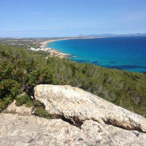 Blick über Formentera