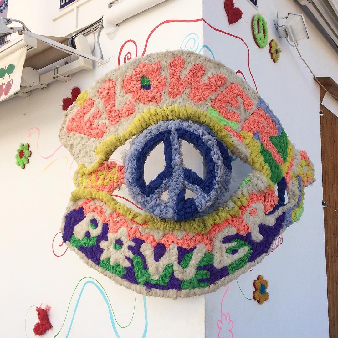 Looking forward to #flowerpower ☮️ #season 🌼🌸🌺 #pacha #pachaibiza🍒 #pachaibiza #flowerpowerparty #eivissa #ibizadiary #partyibiza #ibiza2018 #marinaibiza #pachashop #loveandpeace #hippyspirit #ibizahippie, Pacha Shop