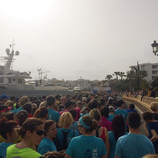 We made it! Had a phantastic day at the @ibizamarathon and the 12K. Amazing event with great people 🏃🏽‍♀️🏃🏻‍♂️ #ibiza #marathon #instarun #goals #ibizamarathon #weekend #sport #instasport #12krun #running #runninglife #ibiza2018 #visitibiza #igersibiza #igersspain #blogger #travelblogger #ibizadiary, Santa Eulalia Del Río, Islas Baleares, Spain