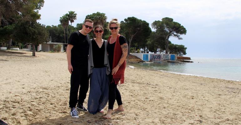 Vom Aussteigen auf Ibiza Caroline Möllers an der Cala Pada
