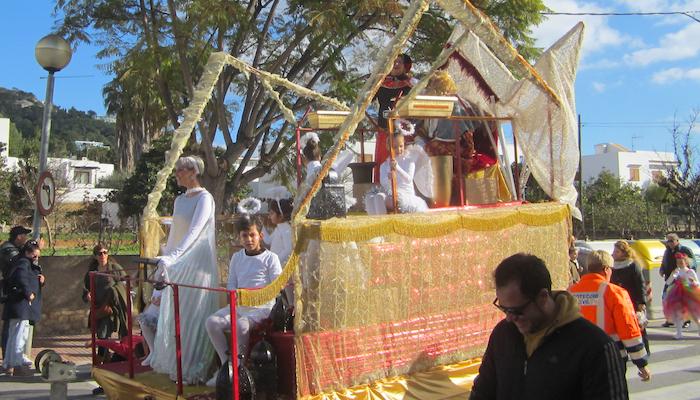 Heilige Drei Könige in Jesus auf Ibiza